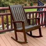 Outside Rocking Chairs Brown