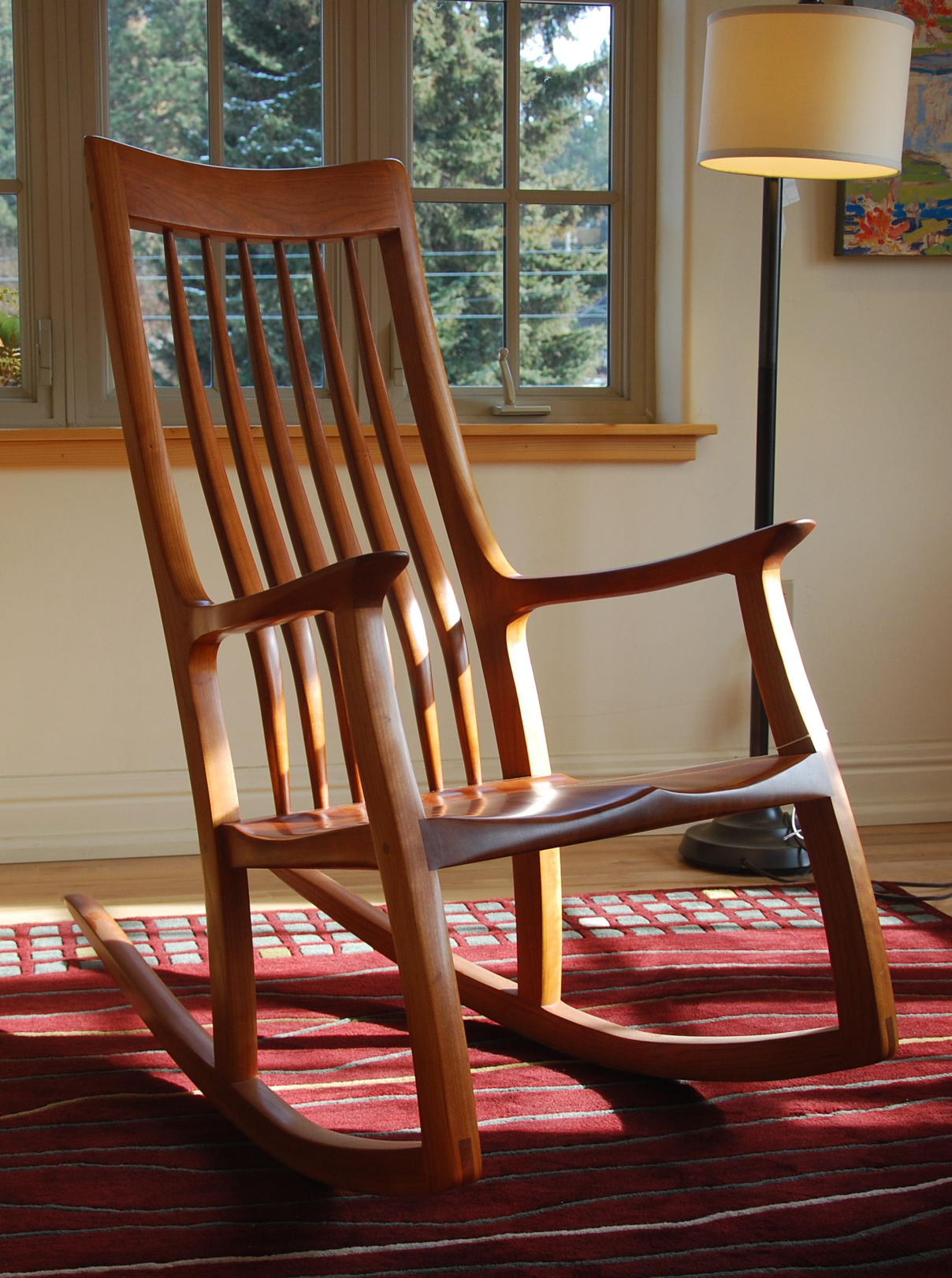 Image of: Outside Rocking Chairs Design