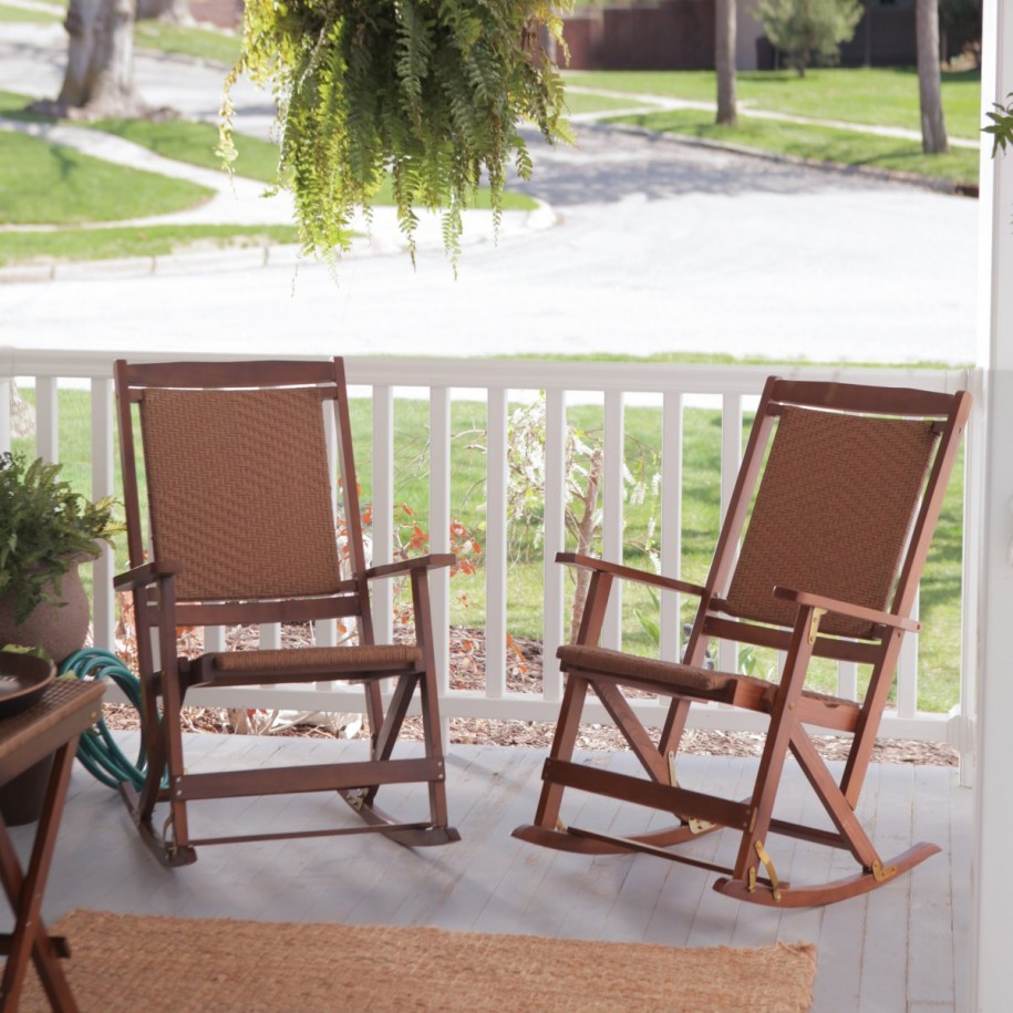 Image of: Outside Rocking Chairs Furniture