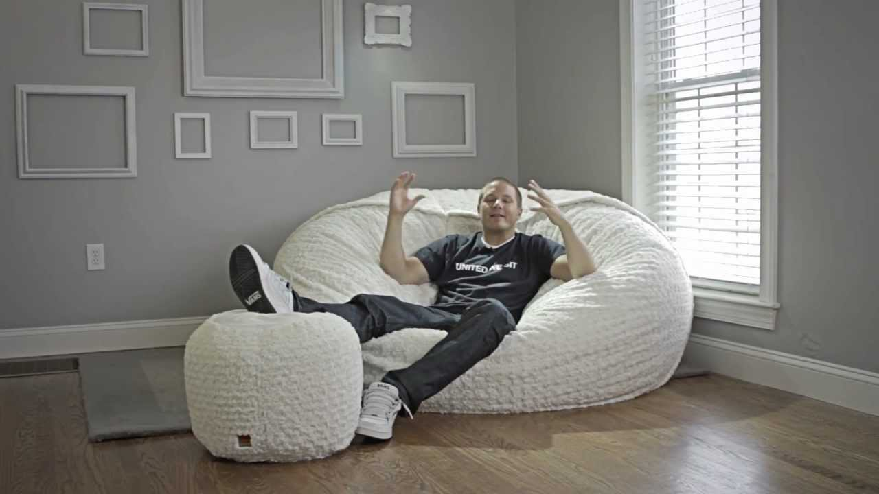 Image of: oversized bean bag chairs design