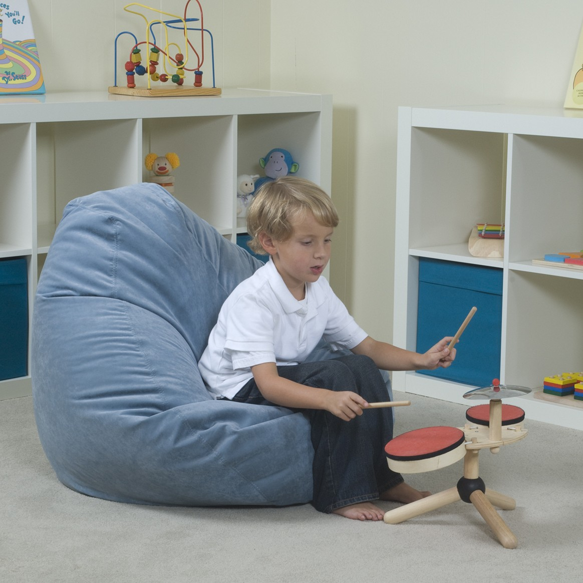 Image of: oversized bean bag chairs for children