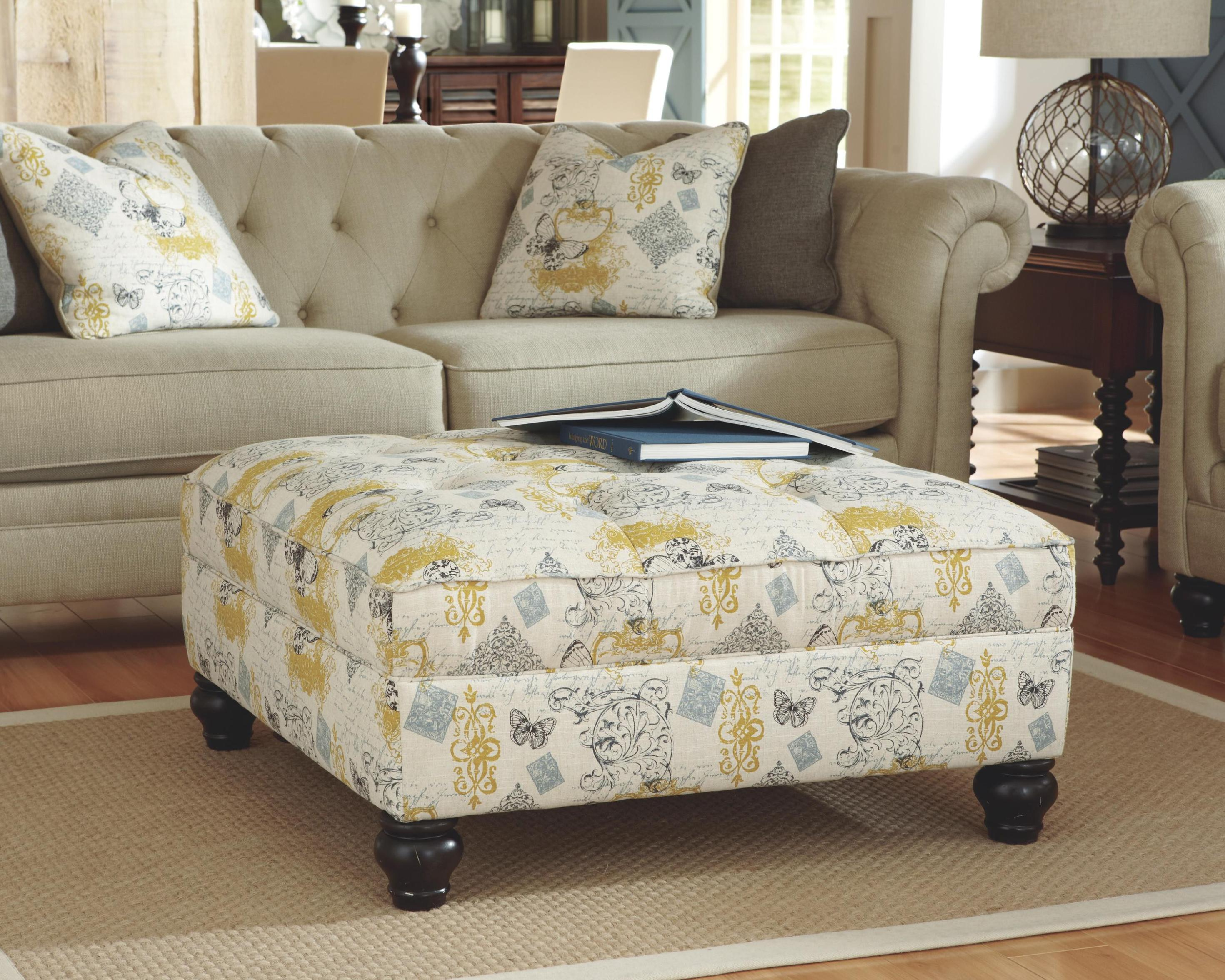 Image of: Oversized Chair And Ottoman Cover