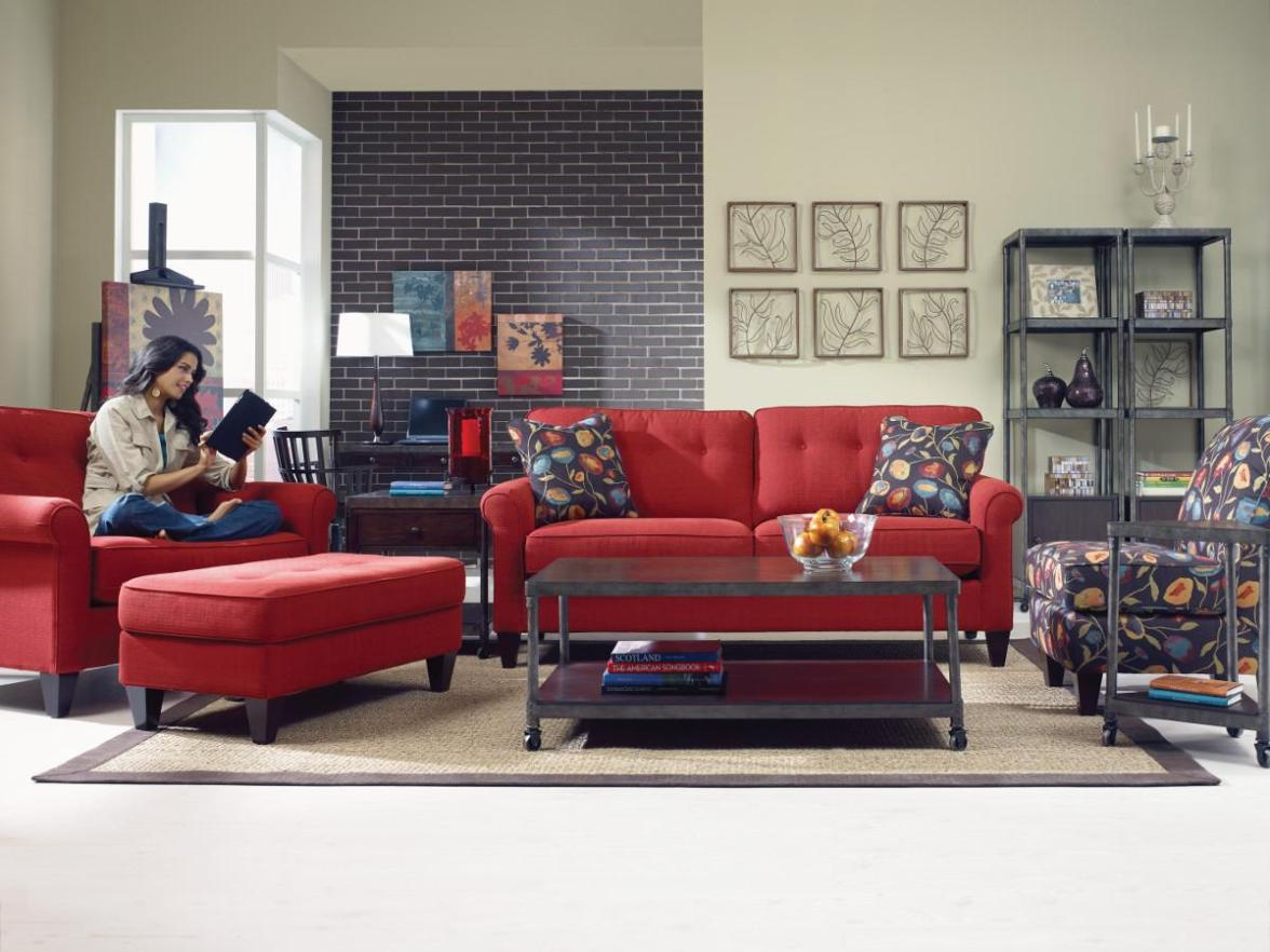 Image of: Oversized Chair And Ottoman Sets