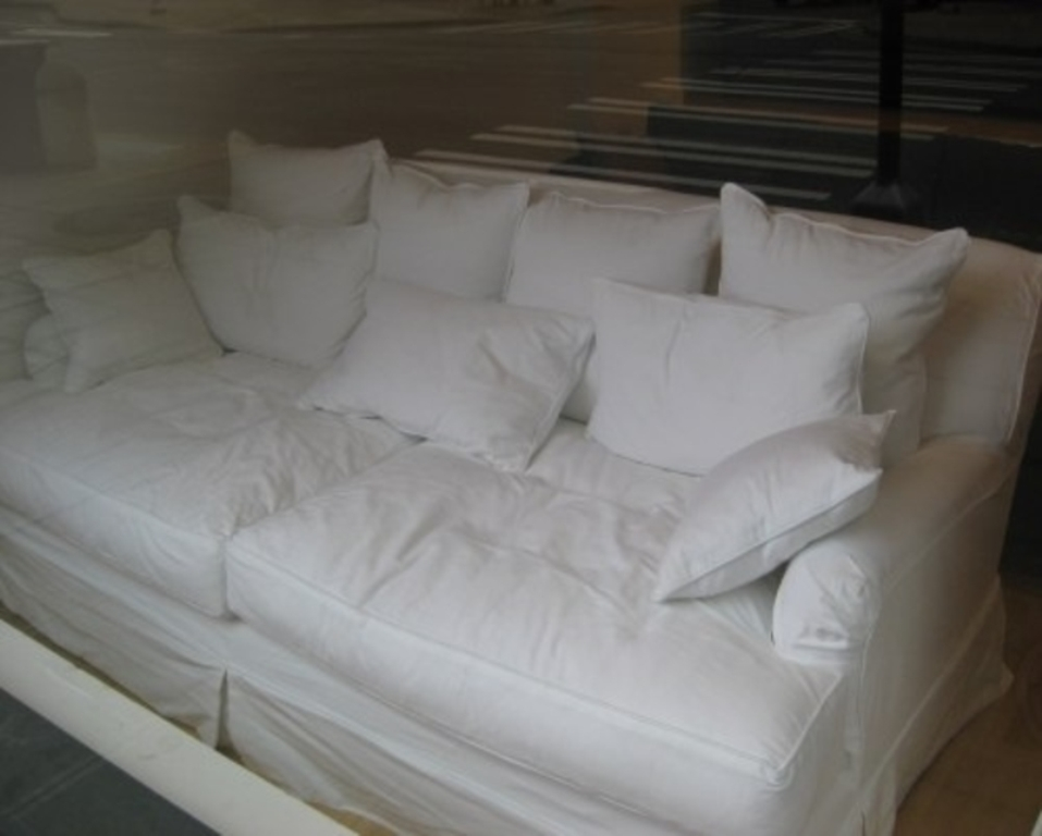 Image of: oversized deep seated sofa
