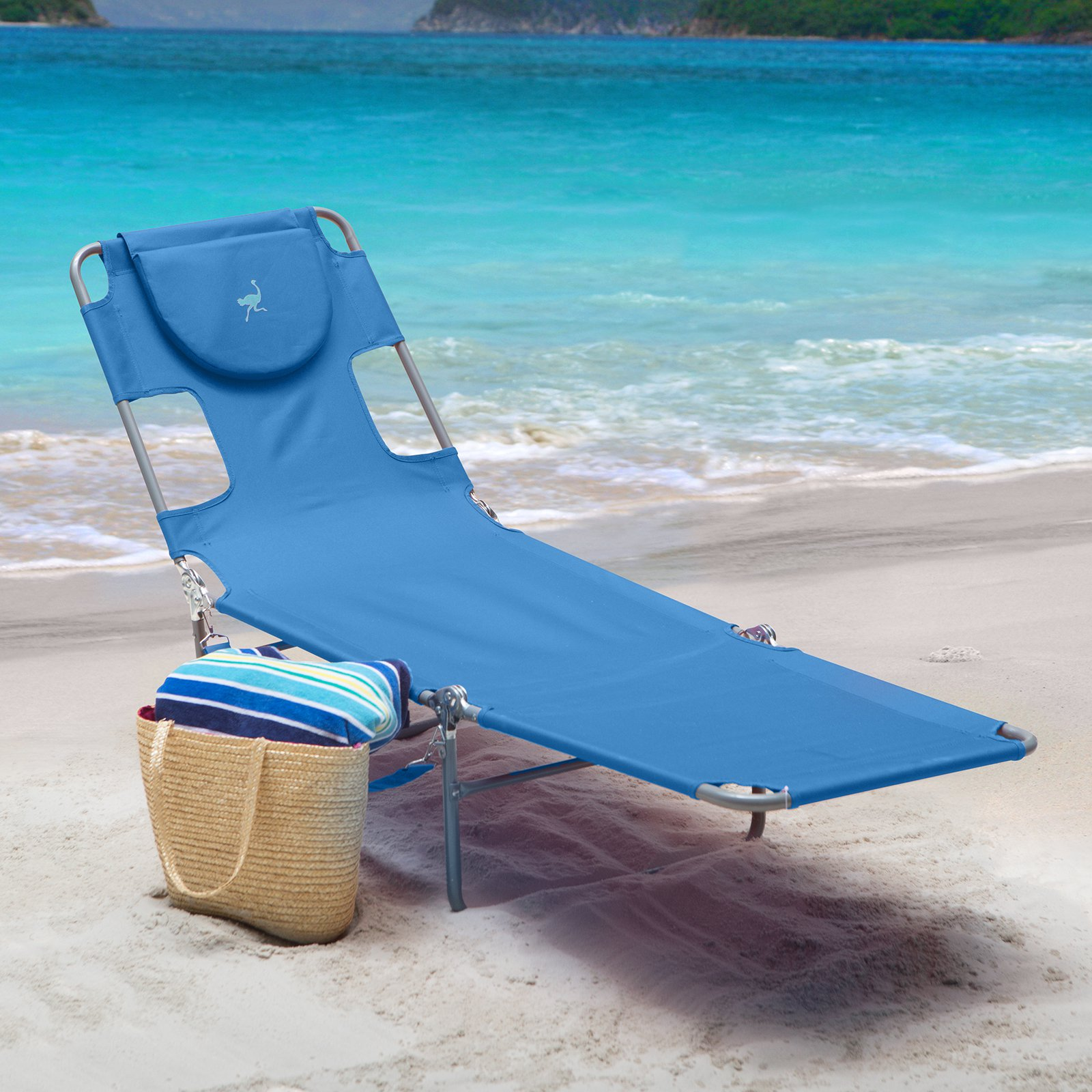 Image of: Oversized Folding Chaise Lounge Chair