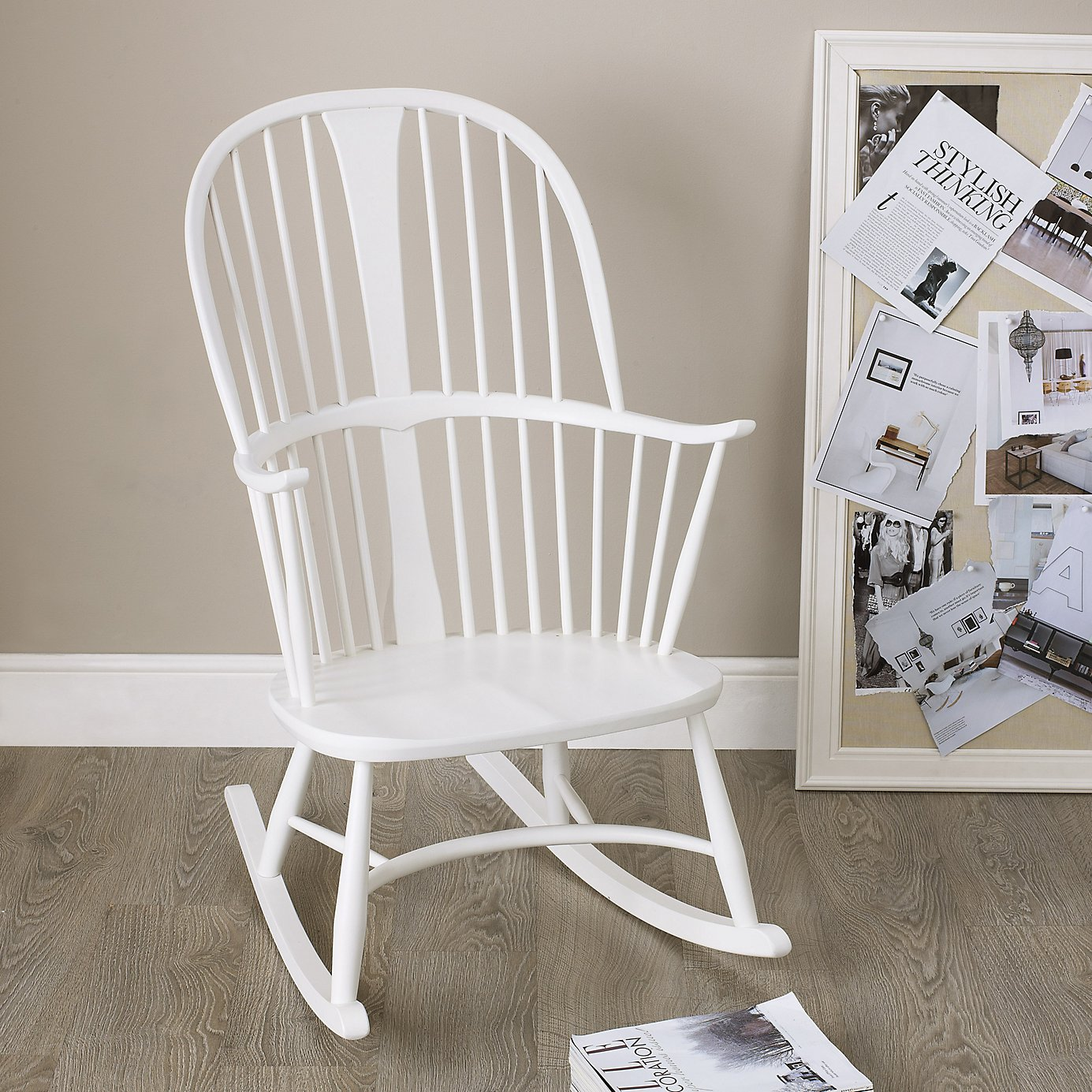 Image of: Oversized Rocking Chair Style