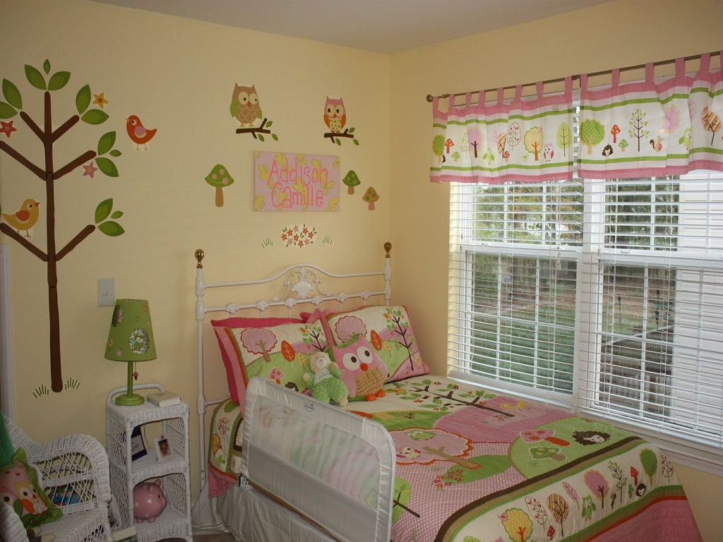 Image of: Owl Bedroom Decorating Ideas