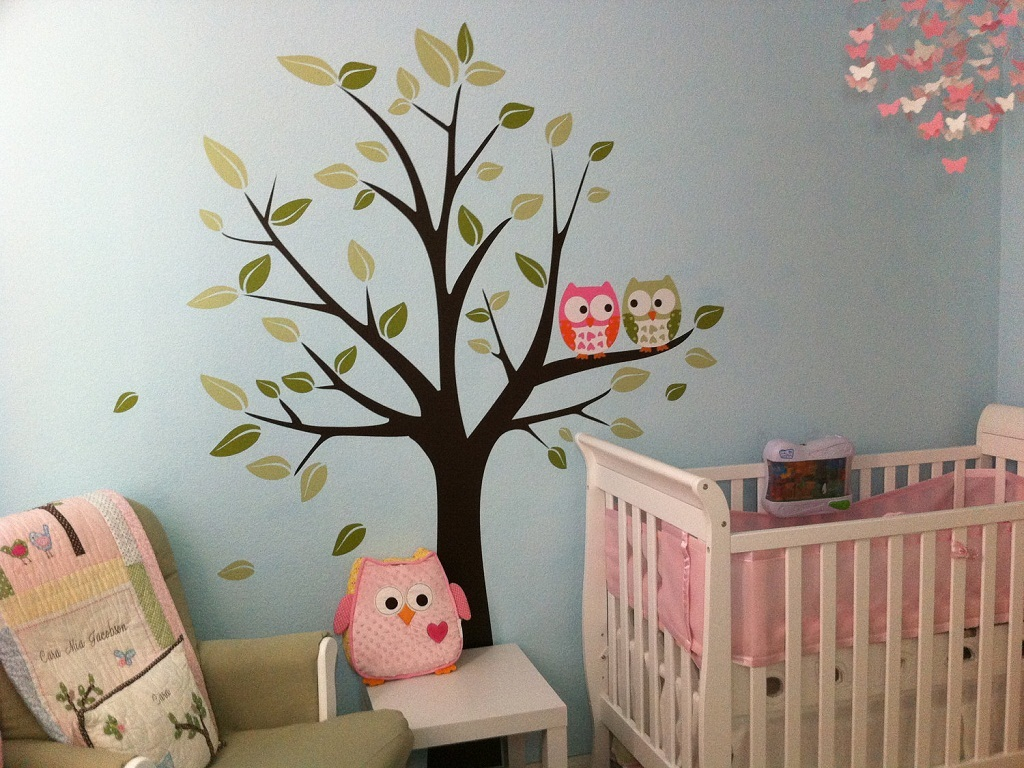 Image of: Owl Room Decor for Baby