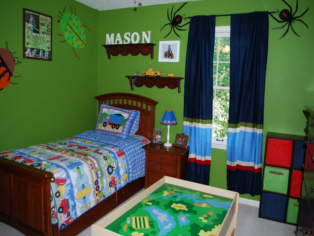 Image of: Paint Ideas For Childrens Bedroom