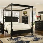 Painted King Canopy Bedroom Sets