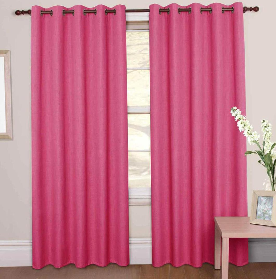 Image of: Pale Pink Blackout Curtains