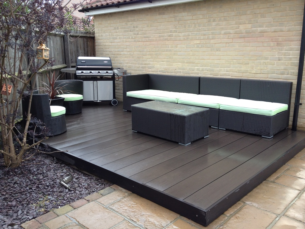 Image of: Patio Deck Tiles Images