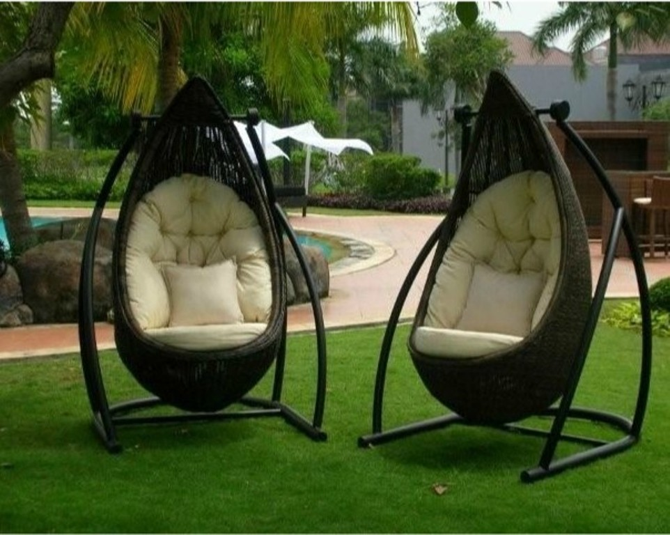 Image of: patio swing chair design