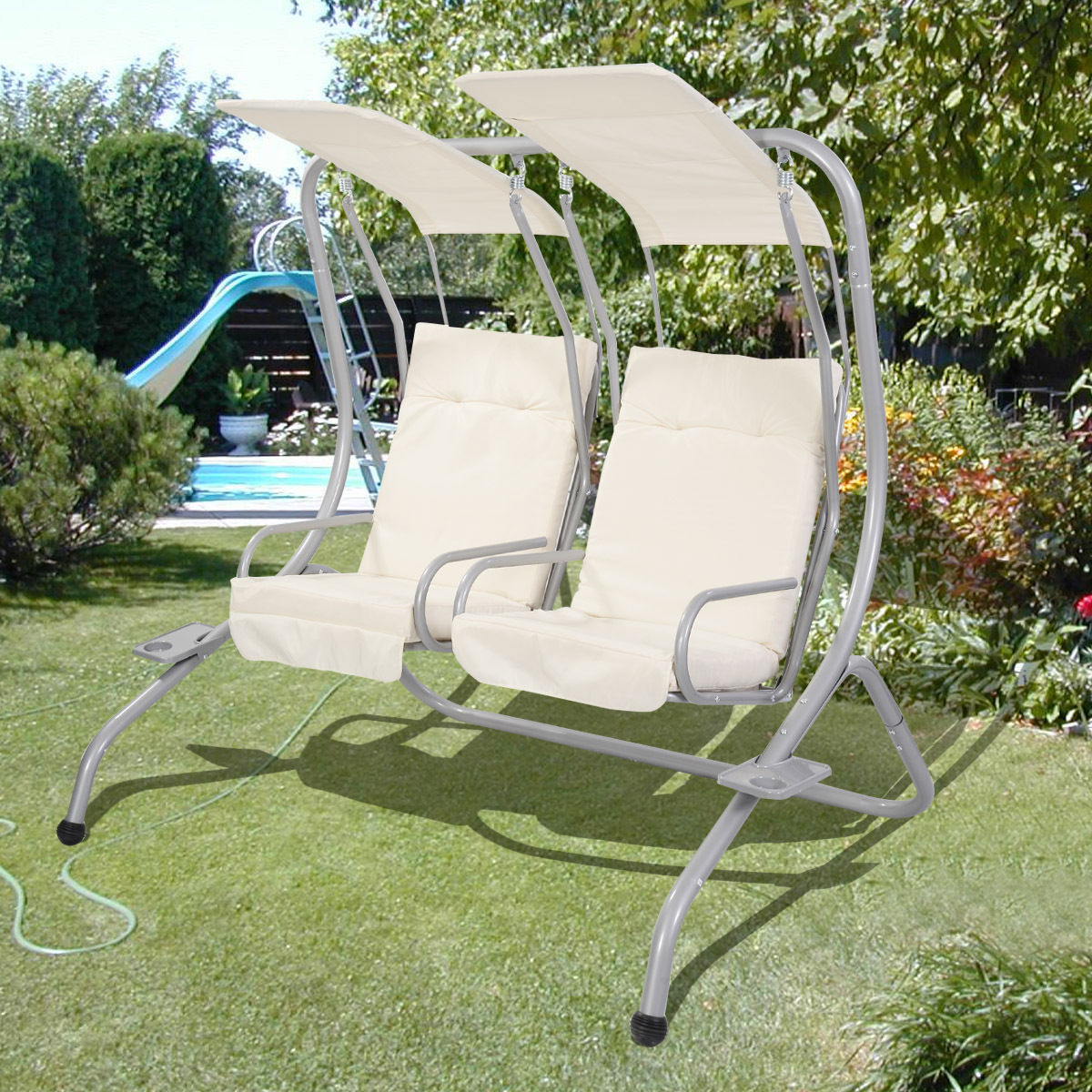 Image of: patio swing chair plan