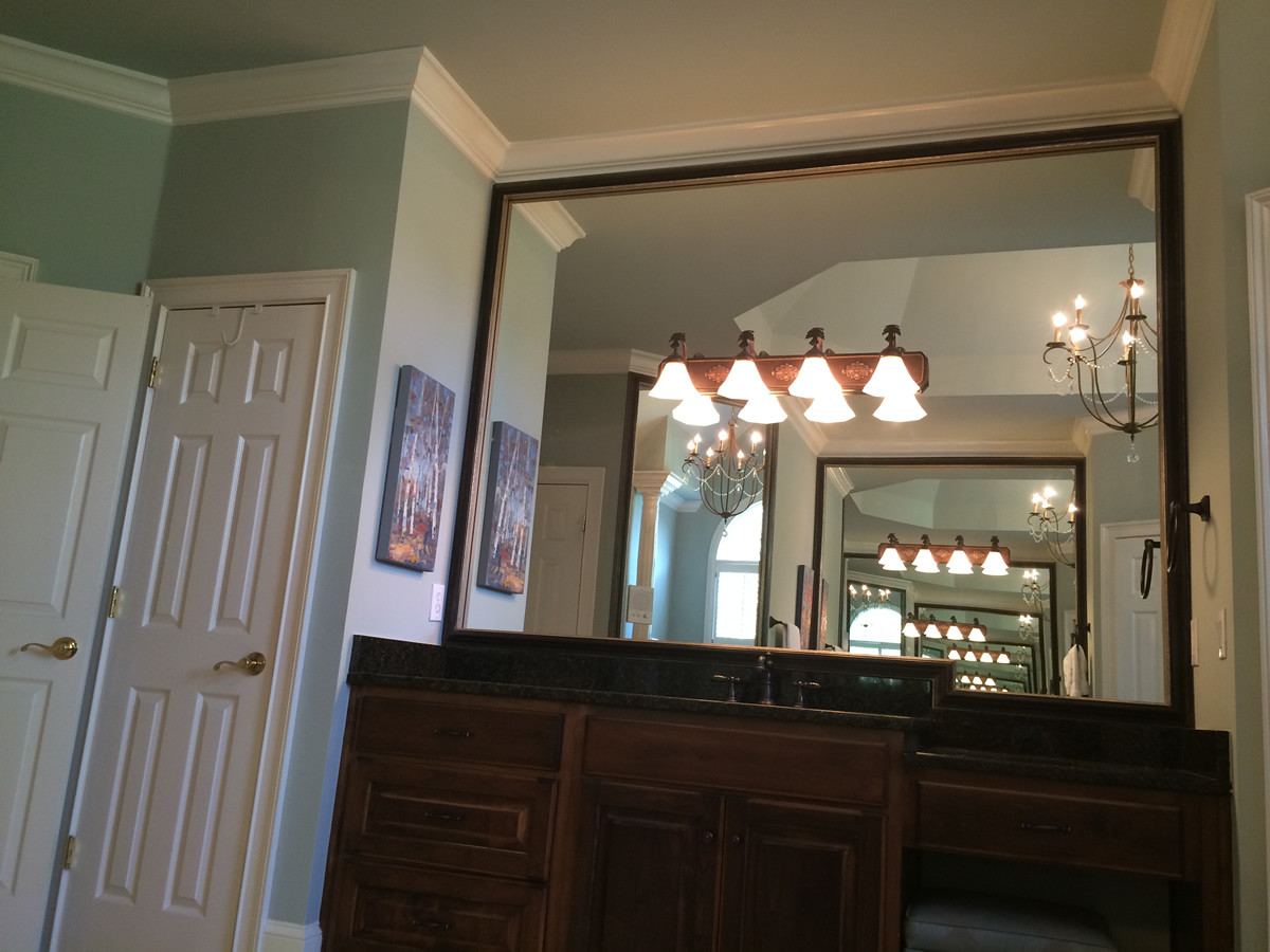 Image of: Perfect Mirrored Frames