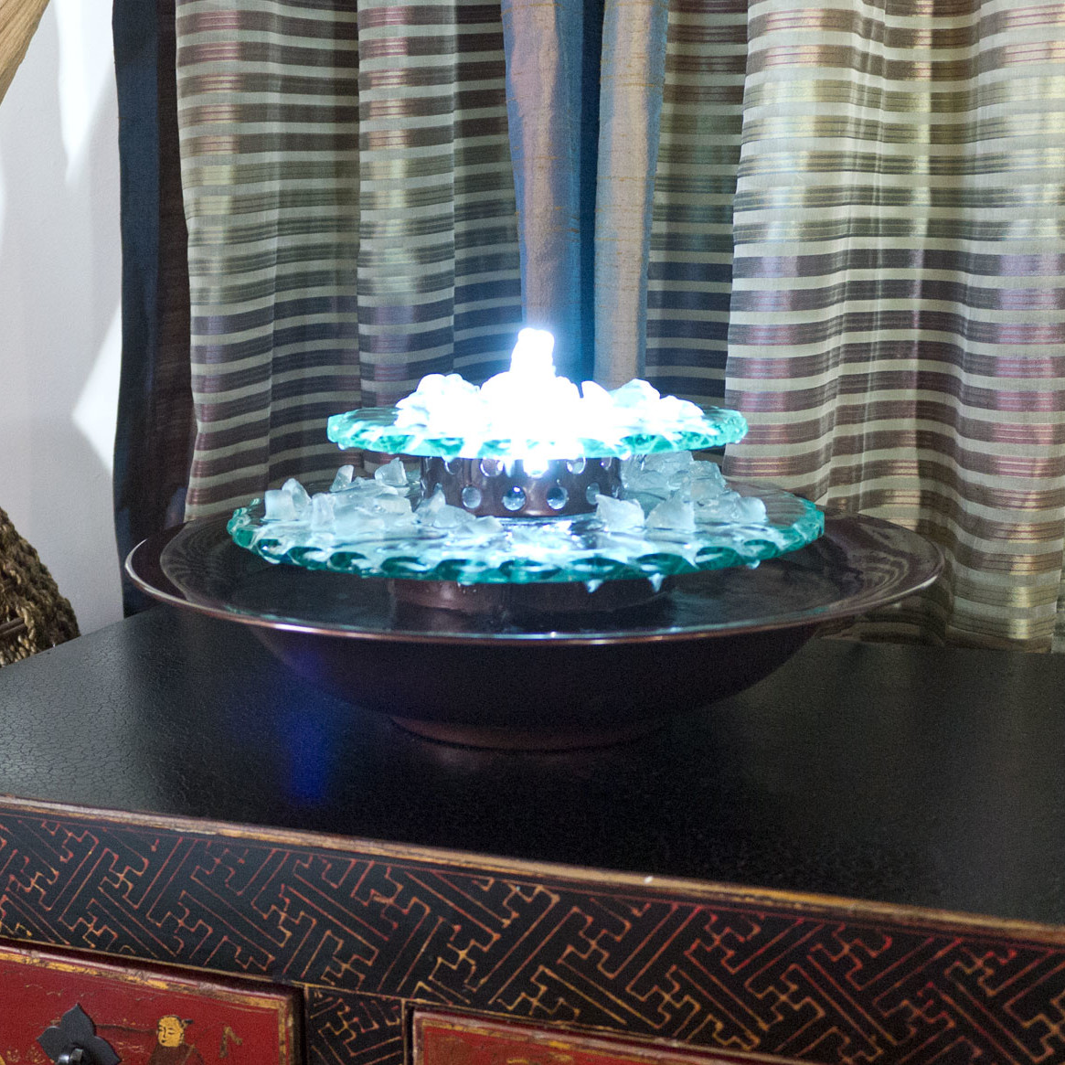Image of: Perfect Tabletop Fountains