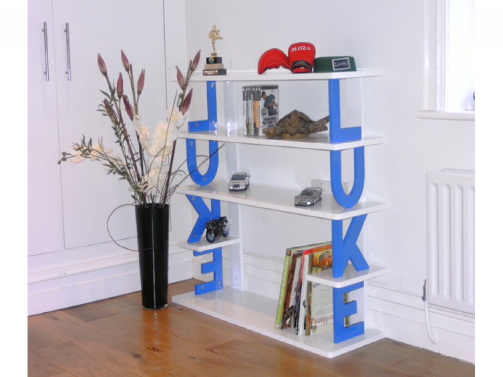 Image of: Personalized Childrens Bookcase