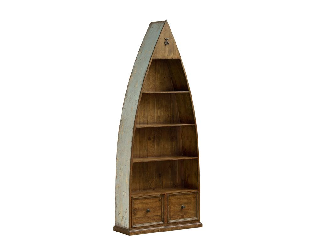 Image of: Photos of Boat Bookcase