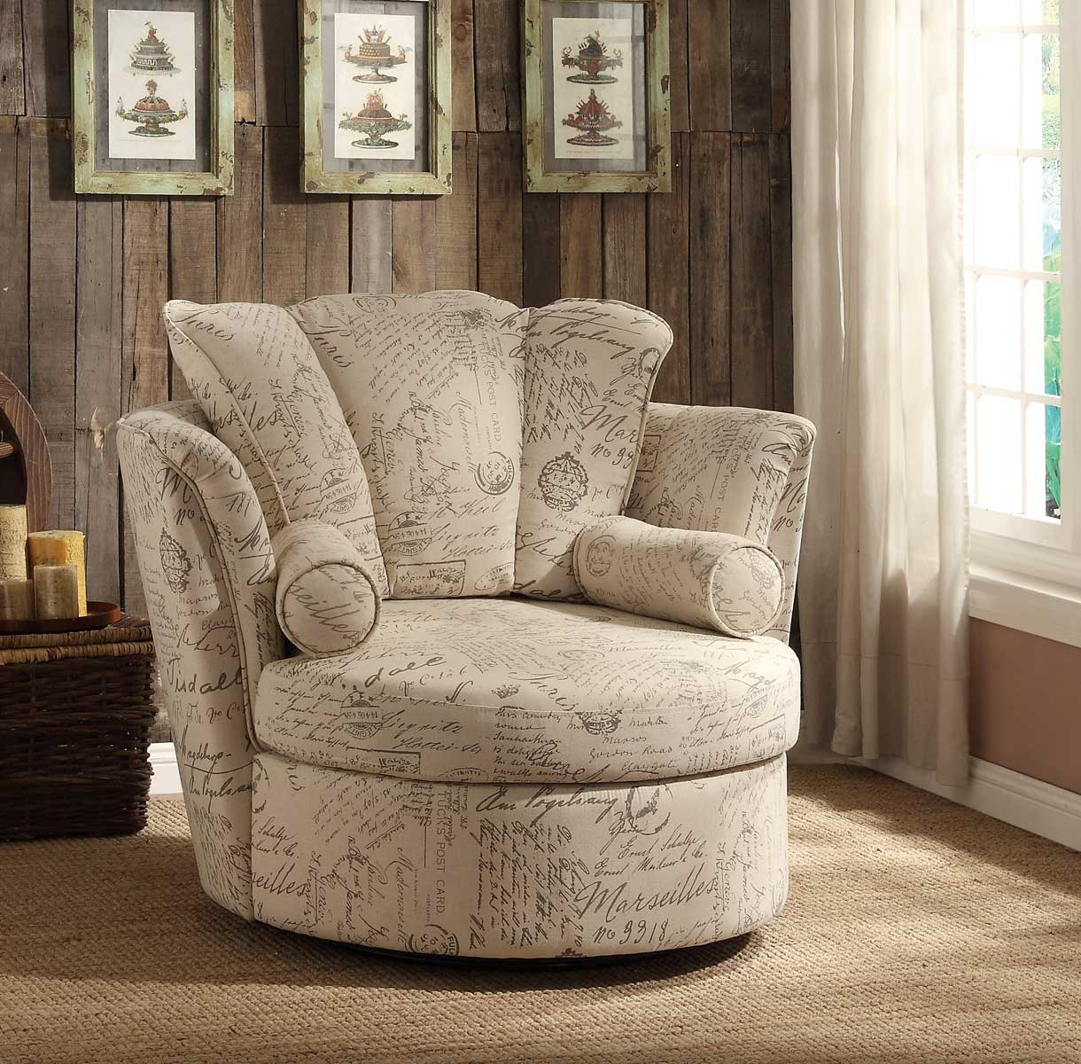 Image of: Photos of Swivel Accent Chairs