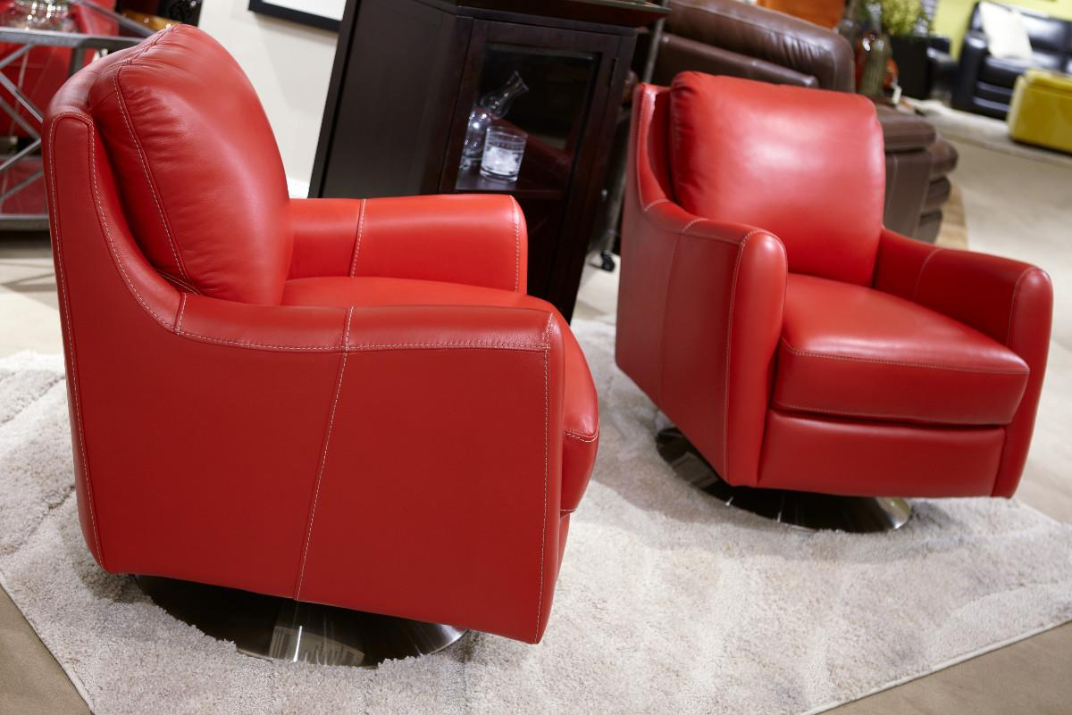 Image of: Picture of Swivel Accent Chairs