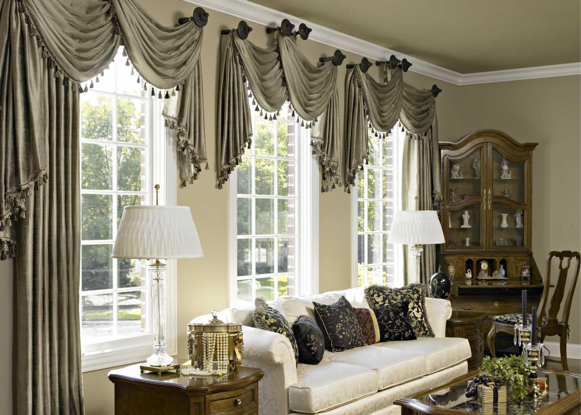 Image of: Pictures Of Valances Window Treatments