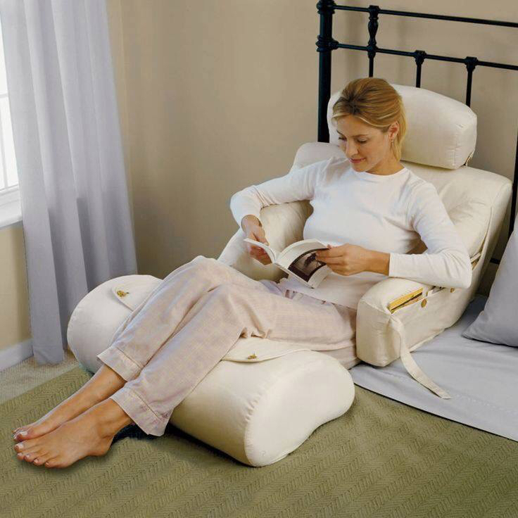 Image of: Pillow To Sit Up In Bed