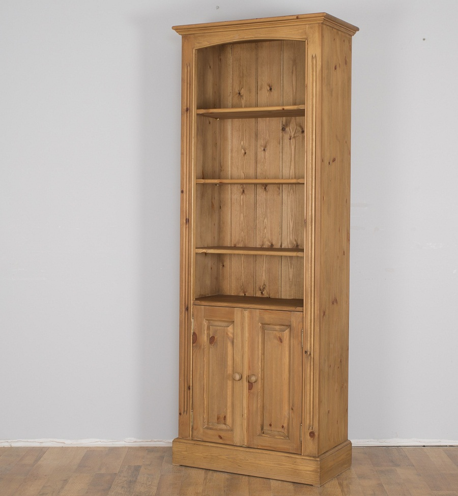 Image of: Pine Bookcase Storage