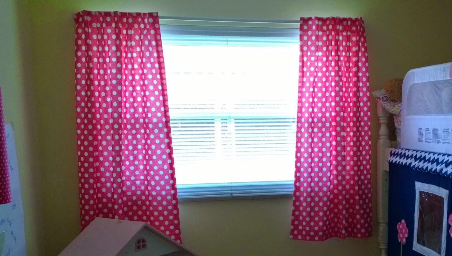 Image of: Pink Blackout Curtain Ideas