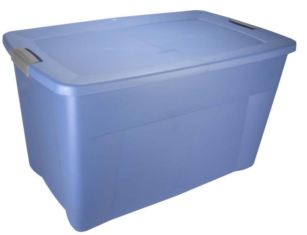 Image of: Plastic Storage Bins With Lids