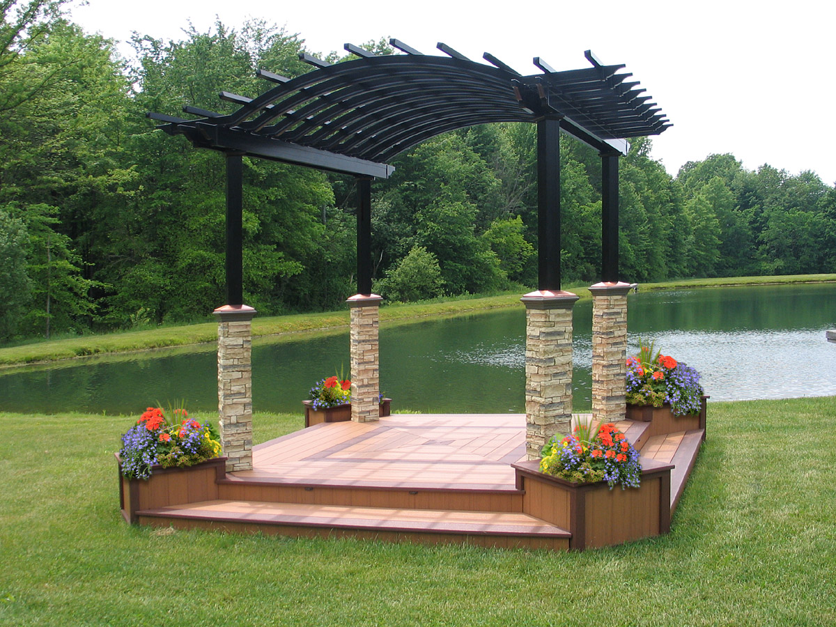 Popular Aluminum Pergola Kits