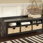 popular entryway bench with storage