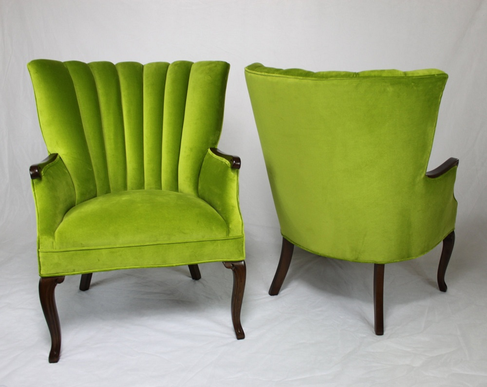 Image of: Popular Lime Green Accent Chair
