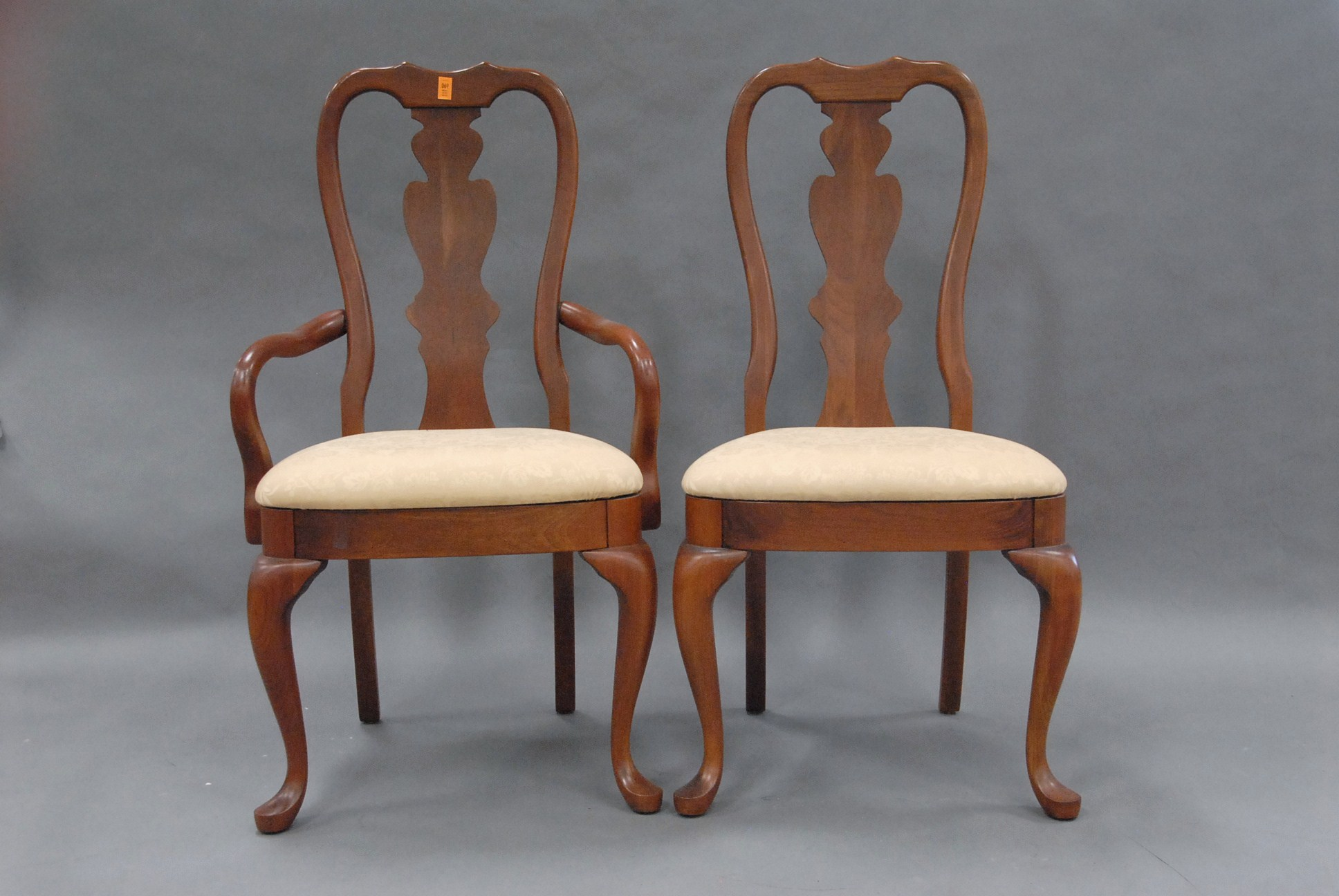Image of: Popular Queen Anne Dining Chairs