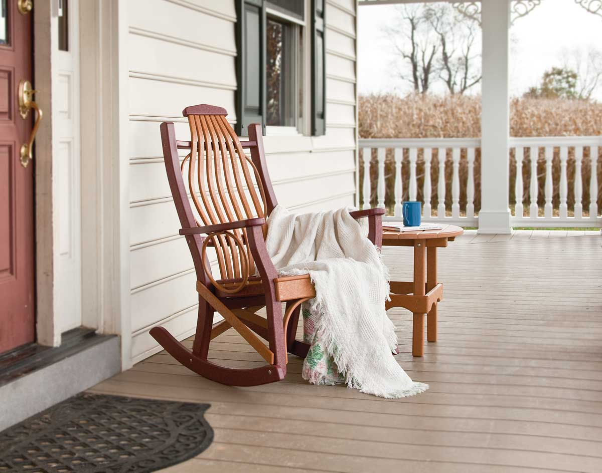Image of: Porch Rocking Chair Ideas