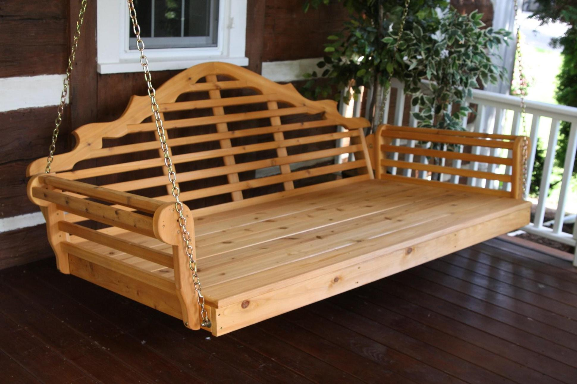 Image of: Porch Swings With Canopy