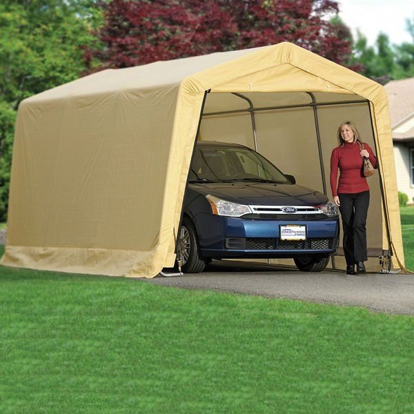 Image of: Portable Awnings Cream