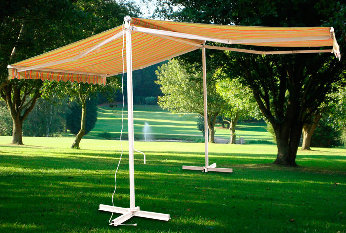 Image of: Portable Awnings Simple