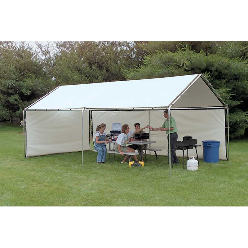 Portable Awnings White