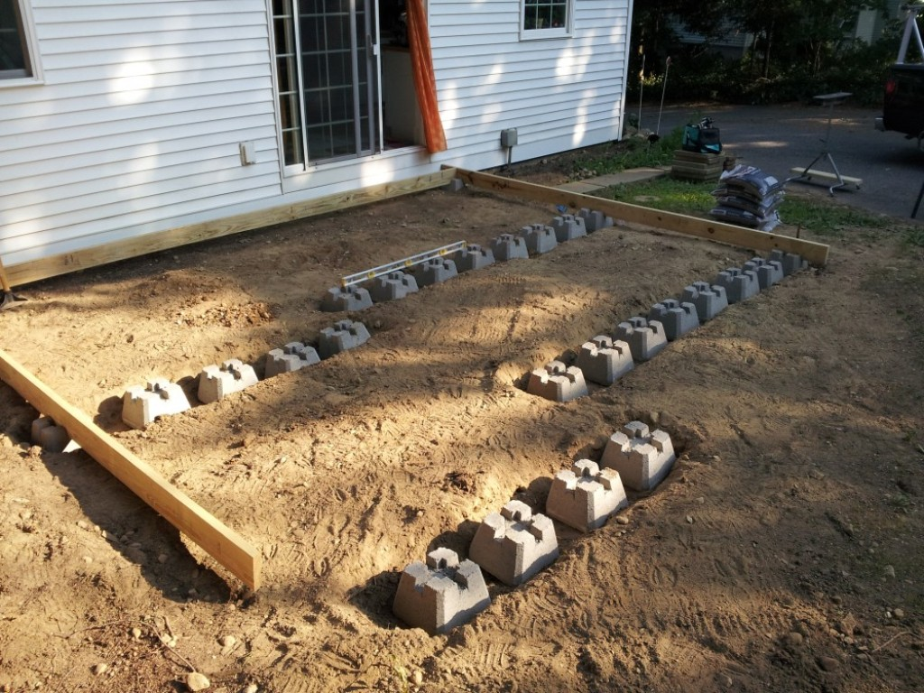 Image of: Precast Deck Footings