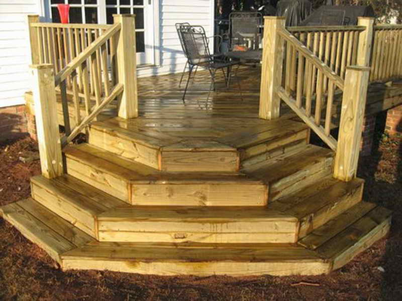 Image of: Premade Deck Platforms