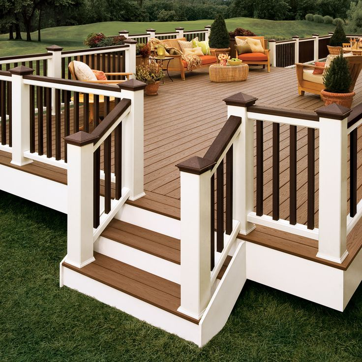 Image of: Premade Deck Railing