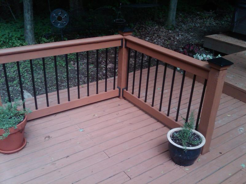 Image of: Premade Deck Sections
