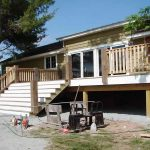 Premade Deck Stairs
