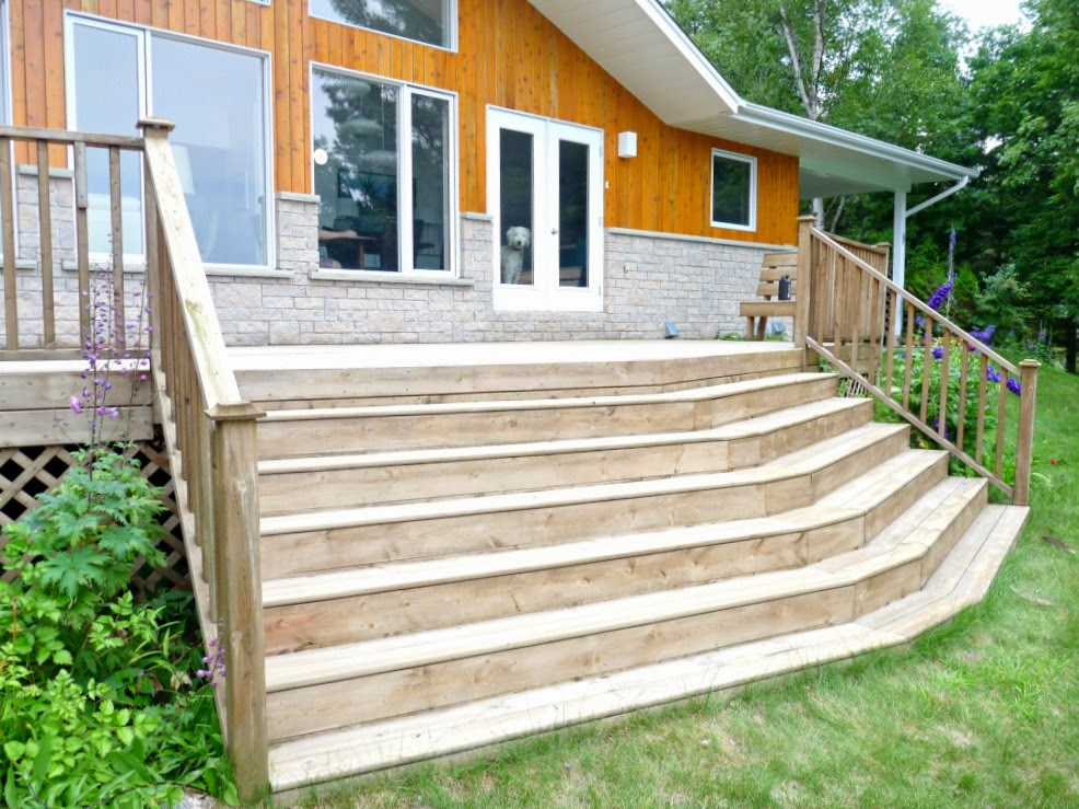 Image of: Pressure Treated Decking Style