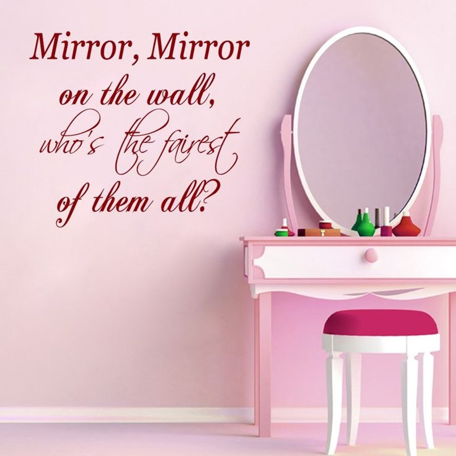 Image of: Pretty Mirror Mirror On The Wall Quote