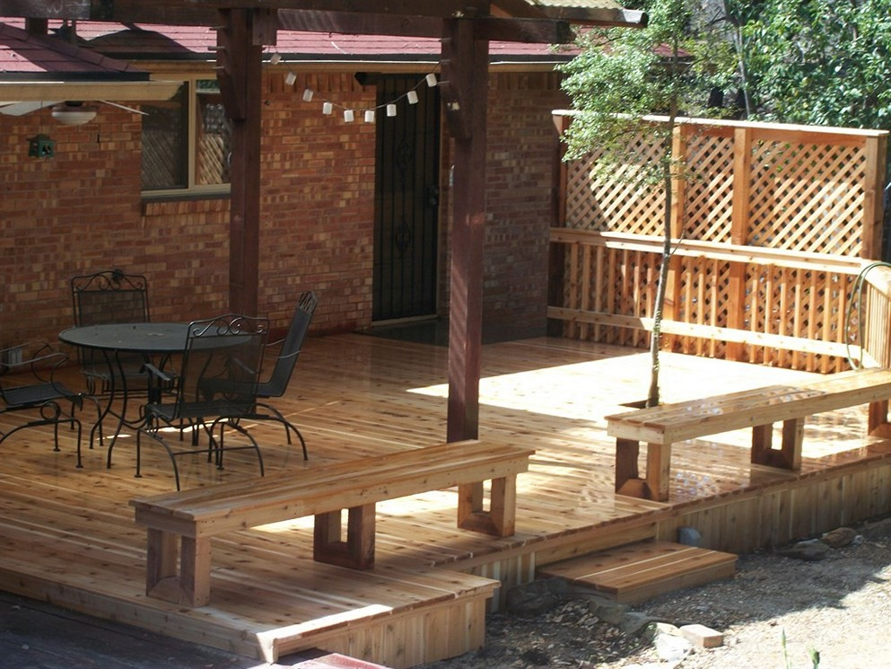 Image of: Privacy Deck Railing Images