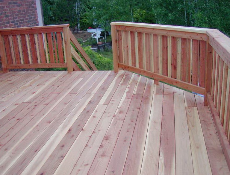 Image of: Privacy Deck Railing Wide