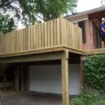 Privacy Deck Railing Wooden