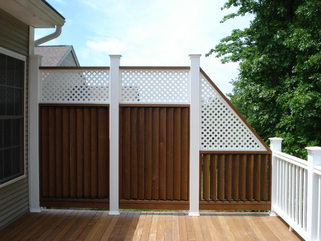 Privacy Deck Railings Photos