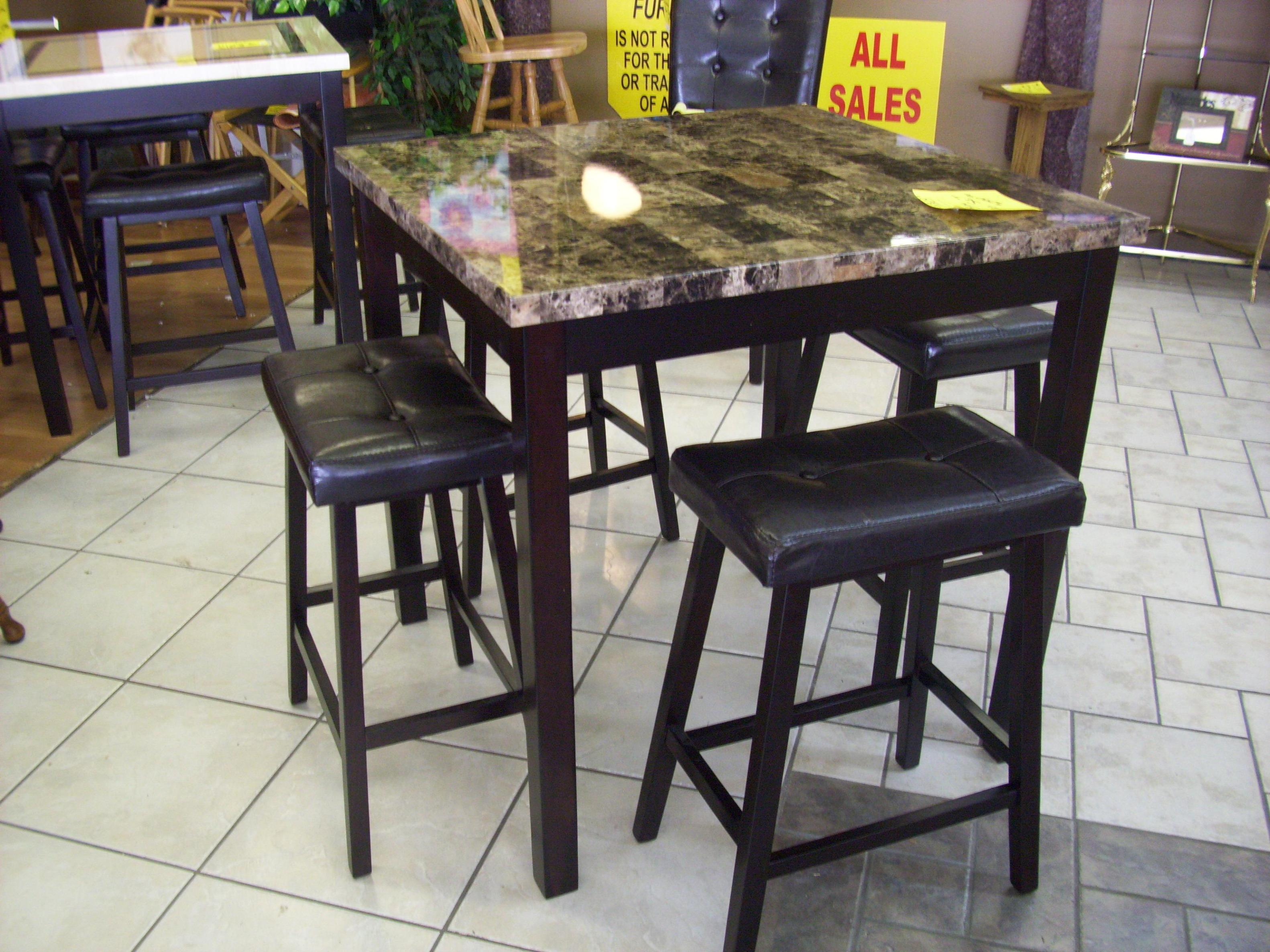 Image of: Pub Style Dining Room Sets